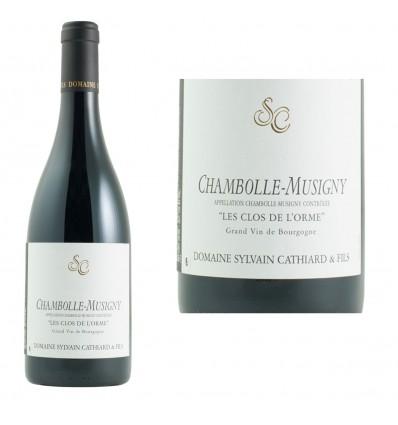 Chambolle Musigny Clos de l'Orme 2017 Domaine Cathiard & Fils