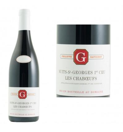 Nuits-Saint-Georges 1er Cru Les Chaboeufs 2015 Domaine Gavignet