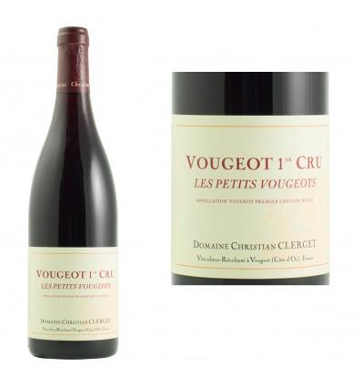 Vougeot 1er Cru Les Petits Vougeots 2009 Domaine Clerget