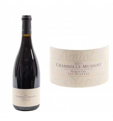 Chambolle Musigny 1er cru Les Plantes 2017 Domaine Amiot-Servelle