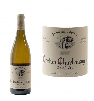 "Corton Charlemagne ""Grand cru"" 2017 Domaine Pavelot"