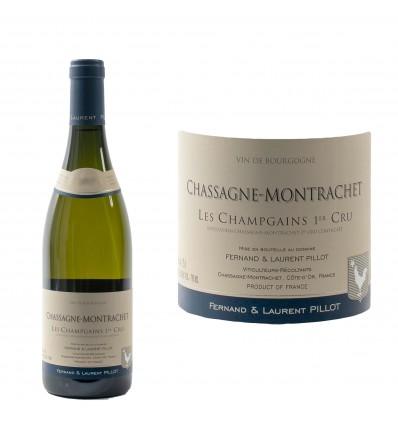 "Chassagne-Montrachet 1er Cru  ""Champgains"" 2017 Domaine Pillot"
