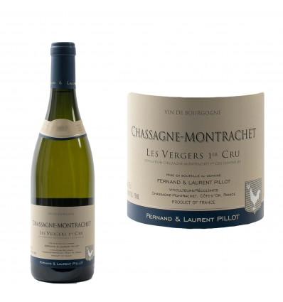 Chassagne-Montrachet 1er Cru Vergers 2017 Domaine Pillot