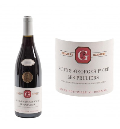 Nuits-Saint-Georges 1er Cru Les Pruliers 2014 Domaine Gavignet