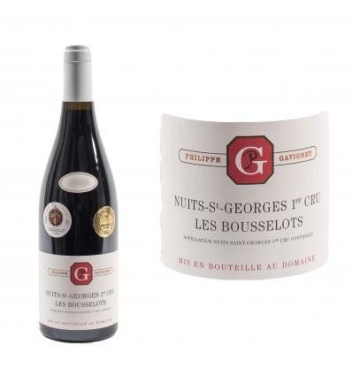 Nuits-Saint-Georges 1er Cru Les Bousselots 2014 Domaine Gavignet