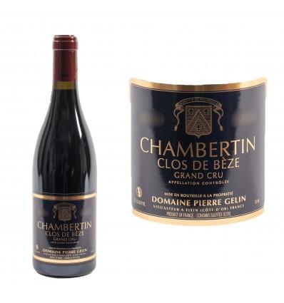 Chambertin grand cru Clos de Bèze 2015 Domaine Gelin