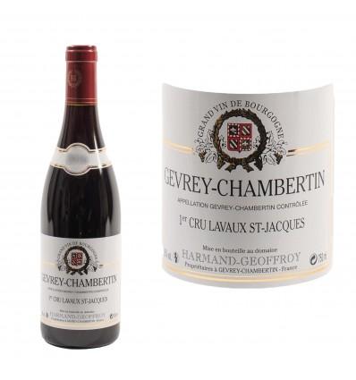 Gevrey Chambertin 1er Cru Lavaux Saint Jacques 2016  Domaine Harmand-Geoffroy