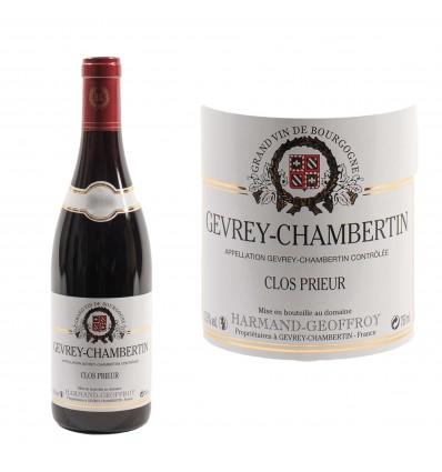Gevrey Chambertin Clos Prieur 2016 Domaine Harmand-Geoffroy