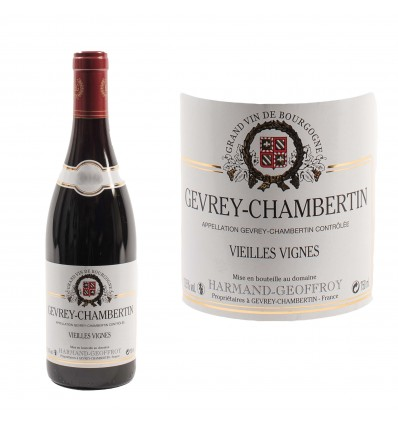 Gevrey Chambertin Vieilles vignes 2016 Domaine Harmand-Geoffroy